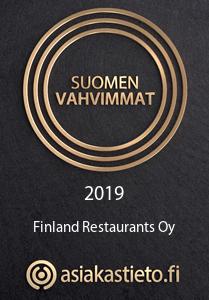 Suomen Vahvimmat 2018 - Finland Restaurants